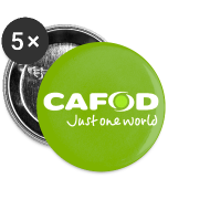 Design ~ Green CAFOD button badge