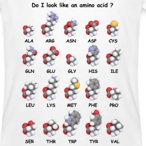 amino acids - Men's Organic T-shirt