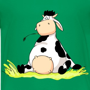 Sitting Cow Shirts - Kids' Premium T-Shirt