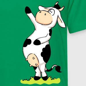 Cow Pointing at Sky Shirts - Kids' Premium T-Shirt