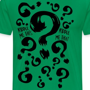 T-Shirt Riddle Me This - T-shirt Premium Homme