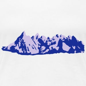 Fjell, Mountains, Alps T-Shirts - Premium T-skjorte for kvinner