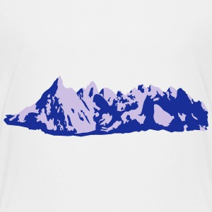 bergen, Mountains, Alps, hiking - Teenager Premium T-shirt