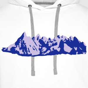 mountains, alps - Men's Premium Hoodie