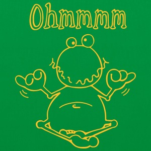 Ohmmm frog- meditation - toad Bags & Backpacks - Tote Bag