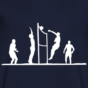 Volleyball, Beachvolleyball, Beach Volleyball T-Sh - Men's V-Neck T-Shirt