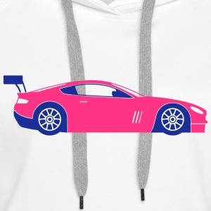 Race Cars (2c)++2014 Hoodies & Sweatshirts - Women's Premium Hoodie