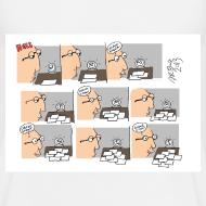 Design ~ Hell Work Day T-Shirt Sam Backhouse