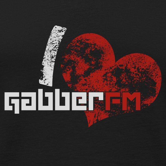 I ♥ Gabber.FM Tank Top Male
