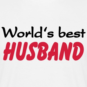 World's best Husband Koszulki - Koszulka męska
