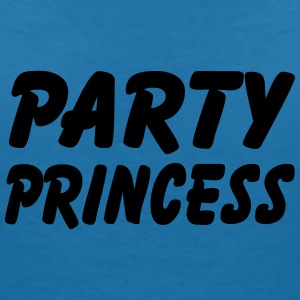 Party Princess T-Shirts - Frauen T-Shirt mit V-Ausschnitt