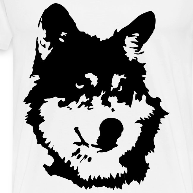 Mens Wolf Shirt