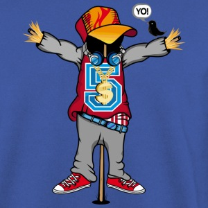 A scarecrow in Hip Hop Style  Hoodies & Sweatshirts - Men's Sweatshirt