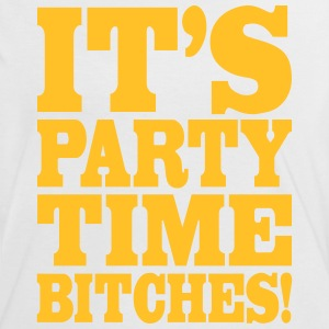 It's party time bitches!, franciscoevans.com T-Shirts - Frauen Kontrast-T-Shirt