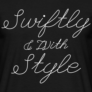 Swiftly & With Style T-Shirts - Men's T-Shirt