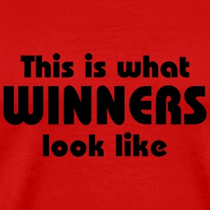 This is what winners look like T-shirts - Mannen Premium T-shirt