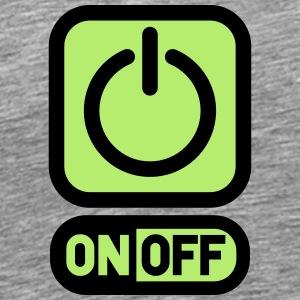 On off switch off power T-Shirts - Men's Premium T-Shirt