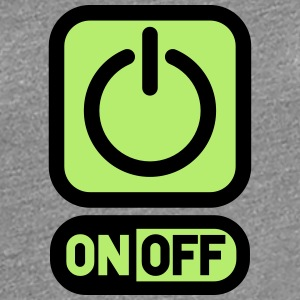 On off switch off power T-Shirts - Women's Premium T-Shirt