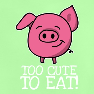 Too cute to eat Pig Kids - Baby T-Shirt