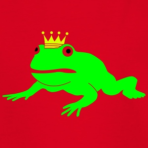 grumpy frog prince Shirts - Teenage T-shirt
