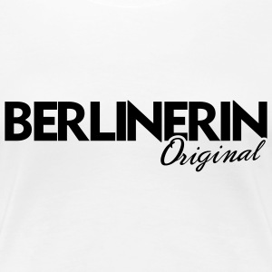 berlinerin original - Frauen Premium T-Shirt