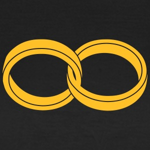 wedding rings - like a Symbol of infinity T-Shirts - Women's T-Shirt