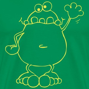 Funny Frog - Frogs T-Shirts - Men's Premium T-Shirt