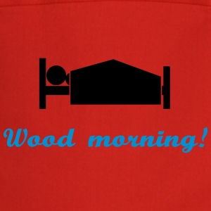 wood morning Delantales - Delantal de cocina