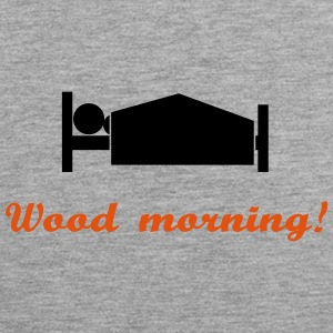 wood morning Tank Tops - Men's Premium Tank Top