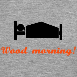 wood morning Long sleeve shirts - Men's Premium Longsleeve Shirt