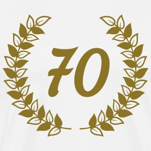 seventieth birthday T-Shirts - Men's Premium T-Shirt