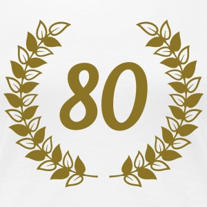 80th birthday T-Shirts - Women's Premium T-Shirt