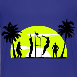 beach volleyball, volleyball  T-Shirts - Maglietta Premium per ragazzi