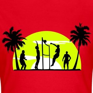 beach volleyball, volleyball  T-Shirts - T-shirt dam
