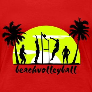beachvolley, volleyball  T-Shirts - Premium-T-shirt dam