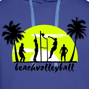 beachvolleyball, volleyball  Pullover & Hoodies - Männer Premium Hoodie