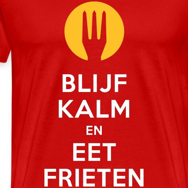 keep calm en eet frieten - Belgium - Belgie
