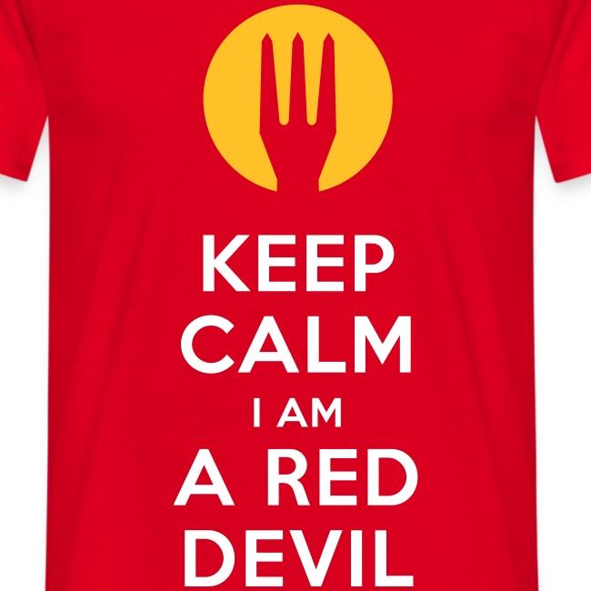 keep calm i am a red devil - Belgium - Belgie