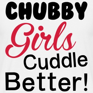 Chubby Girl T-Shirts - Men's T-Shirt