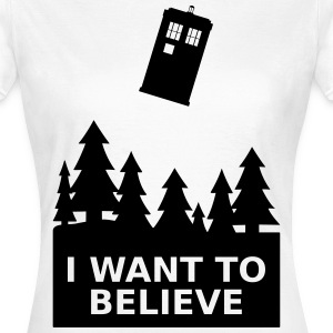 I want to believe Tee shirts - T-shirt Femme