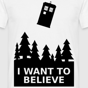 I want to believe Tee shirts - T-shirt Homme