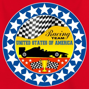 us racing team 02 Shirts - Teenage T-shirt
