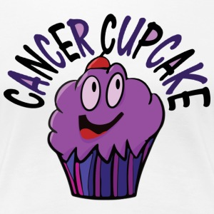 Women's Cancer Cupcake - Women's Premium T-Shirt