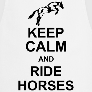 keep_calm_and_rider_horses_g1 Tabliers - Tablier de cuisine