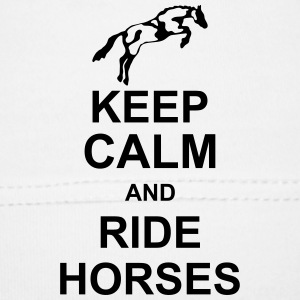keep_calm_and_rider_horses_g1 Tilbehør - Babys lue