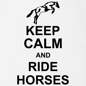 keep_calm_and_rider_horses_g1 Tee shirts - Body bébé bio manches courtes