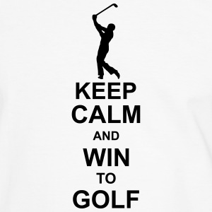 keep_calm_and_win_to_golf_g1 T-Shirts - Men's Ringer Shirt