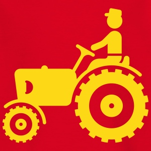 Farmer With Tractor Shirts - Kids' T-Shirt