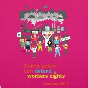 Workers' rights Bags & Backpacks - EarthPositive Tote Bag