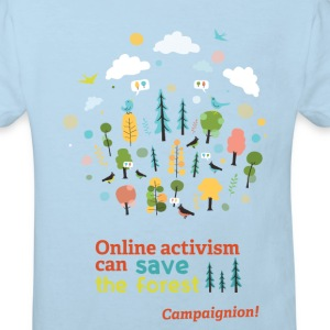Save the forest Shirts - Kids' Organic T-shirt